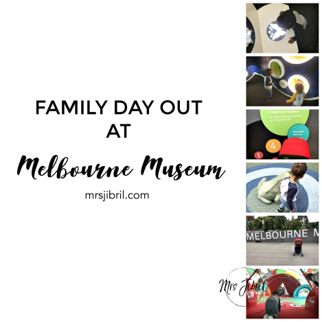 Family day out at Melbourne museum